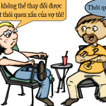 Thói quen xấu của vợ
