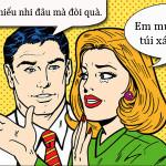 Cách đòi quà khôn khéo của vợ
