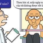Bệnh nhân lo lắng vì thuốc có tác dụng